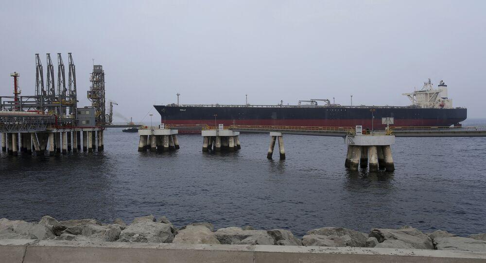 oil tanker in Fujairah