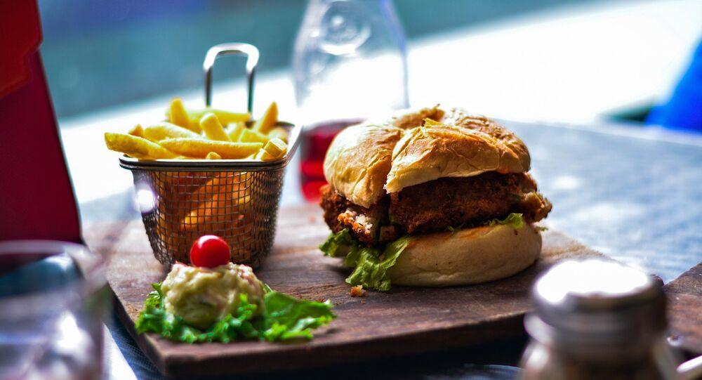 Burger (image d'illustration)