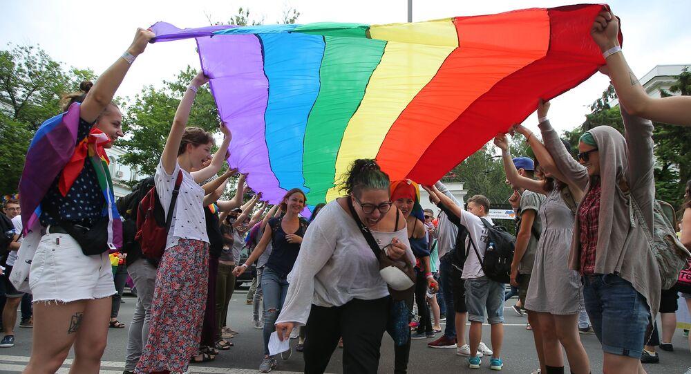 Des militants LGBT