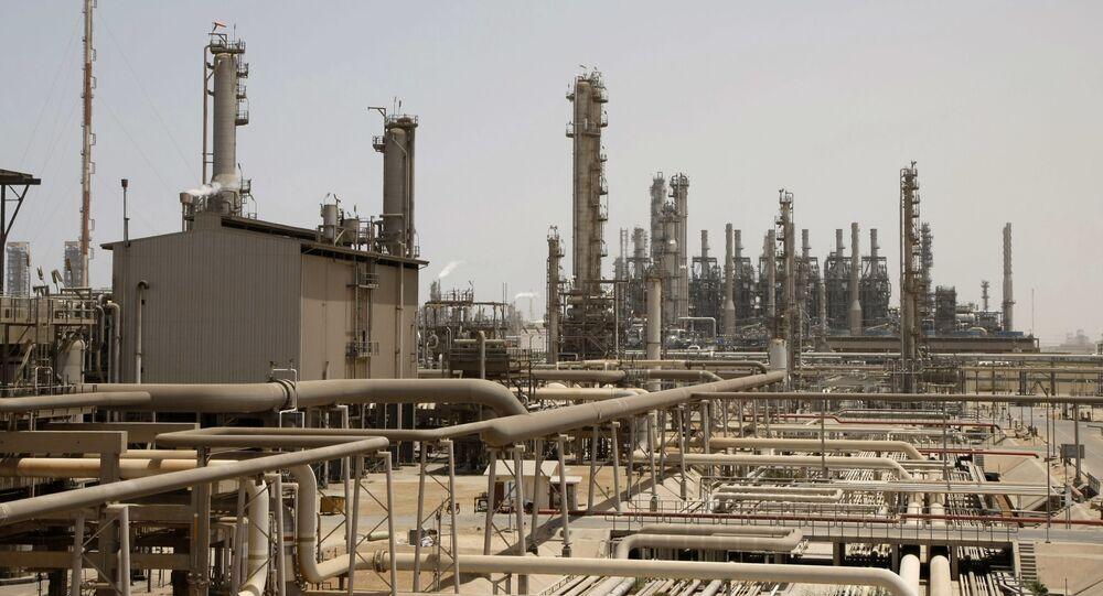Installation pétrolière à Jubail, à 600 km de Riyad