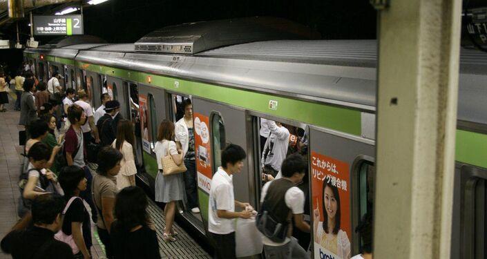 Métro au Japon