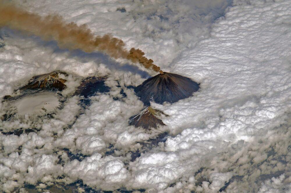 Le volcan Klioutchevskoï
