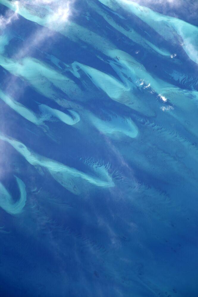 L'océan Pacifique photographié depuis l'ISS