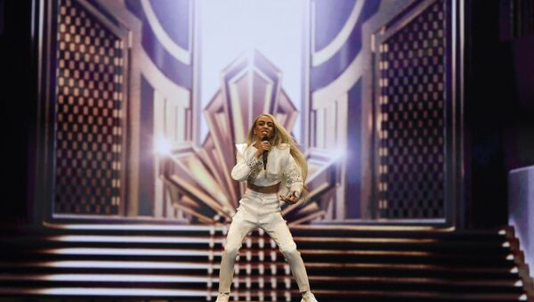 Bilal Hassani of France performs during a rehearsal for the 2019 Eurovision Song Contest in Tel Aviv, Israel. - Sputnik France