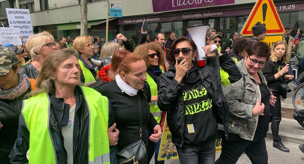 Les Gilets jaunes se réunissent pour l'acte 27 à Paris