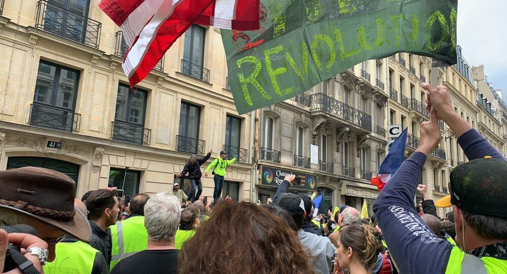 Acte 27 des Gilets jaunes à Paris