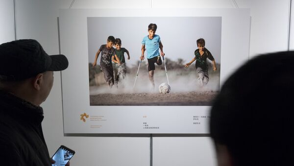 La photo qui a remporté l'or au concours Andréï Sténine dans la catégorie Sport - Sputnik France