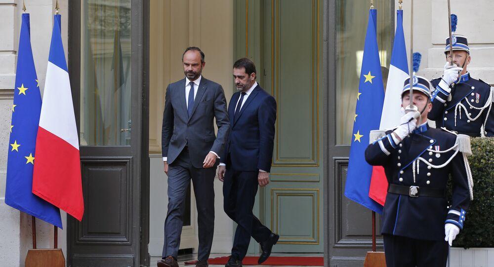Christophe Castaner et Edouard Philippe