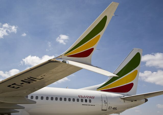 Un Boeing 737 Max 8 d'Ethiopian Airlines, photo d'illustration