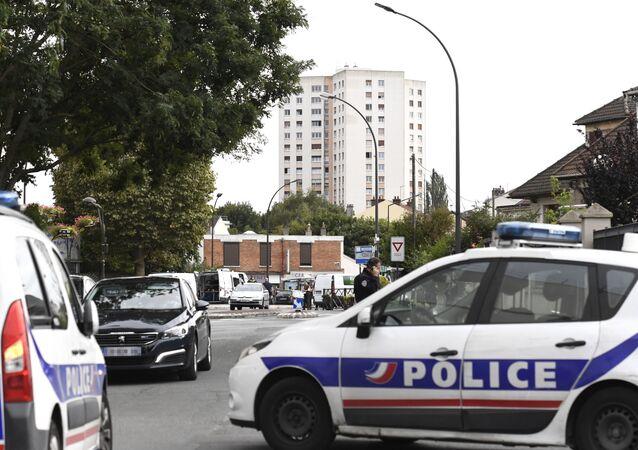 Une voiture policière (image d'illustration)