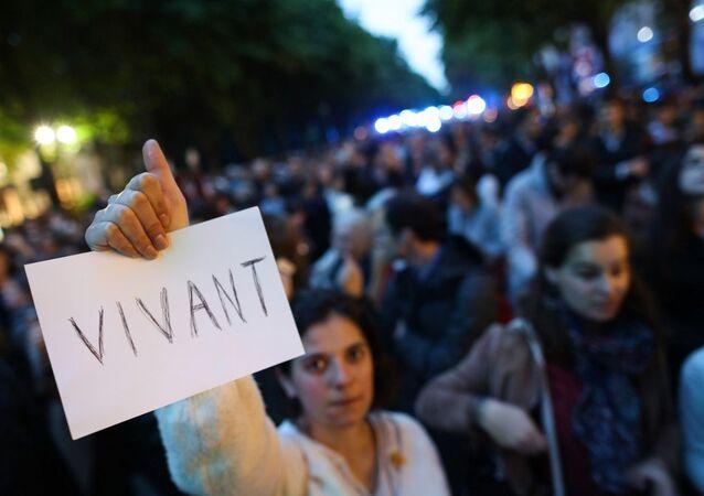 Marche en soutien à Vincent Lambert