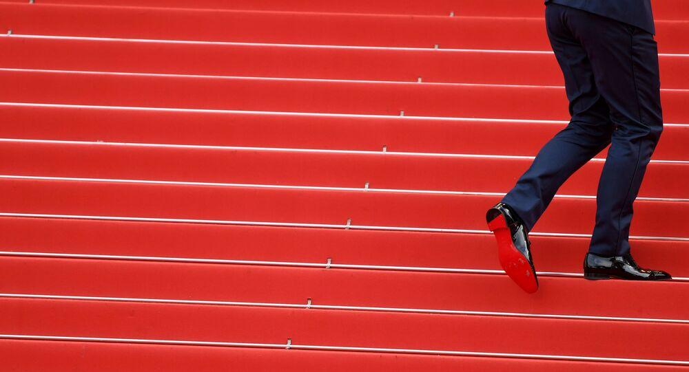 Гость на красной дорожке 71-го Каннского международного кинофестиваля