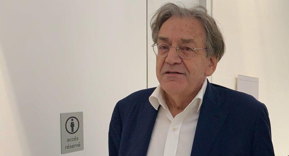 Le philosophe Alain Finkielkraut