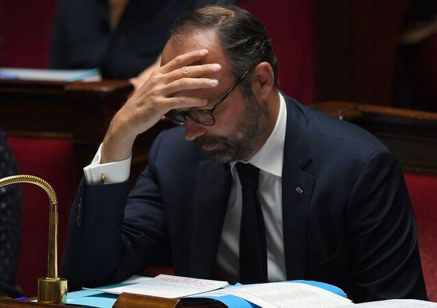 Edouard Philippe à l'Assemblée nationale