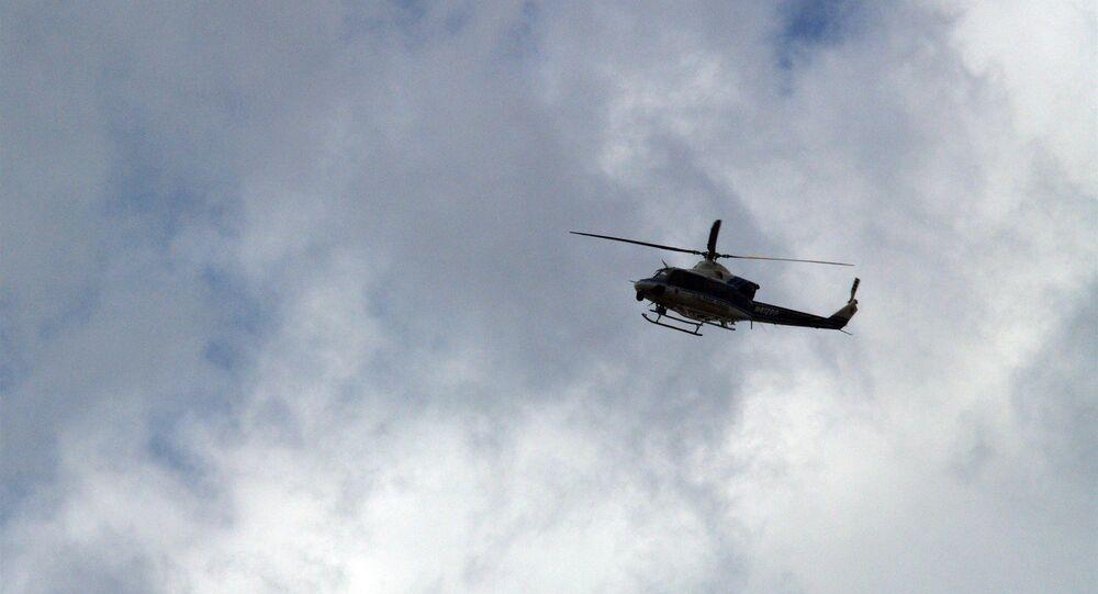 Hélicoptère. Image d'illustration
