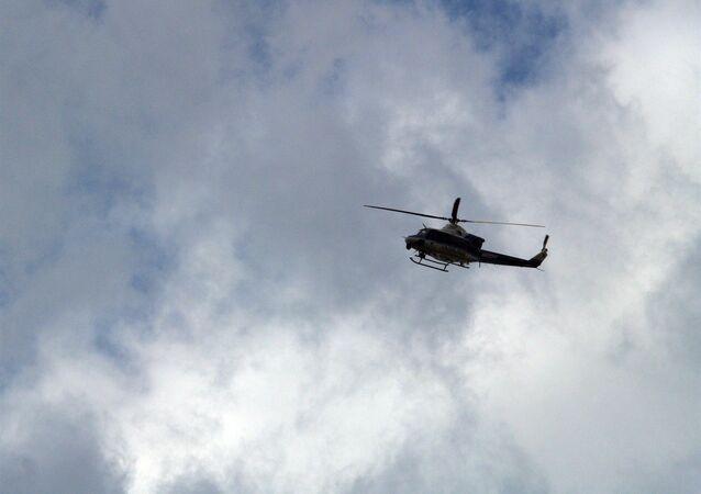 Un hélicoptère Bell 412 (image d'illustration)