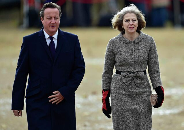 David Cameron et Theresa May