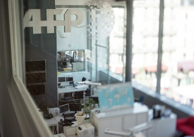 Un bureau de l'AFP (image d'illustration)