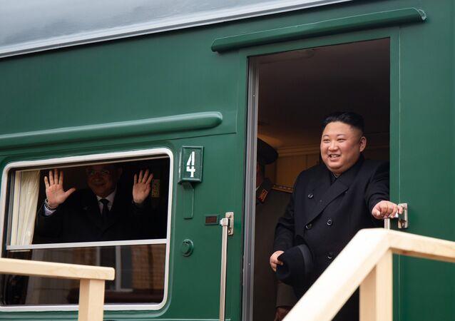 Kim Jong-un à Vladivostok