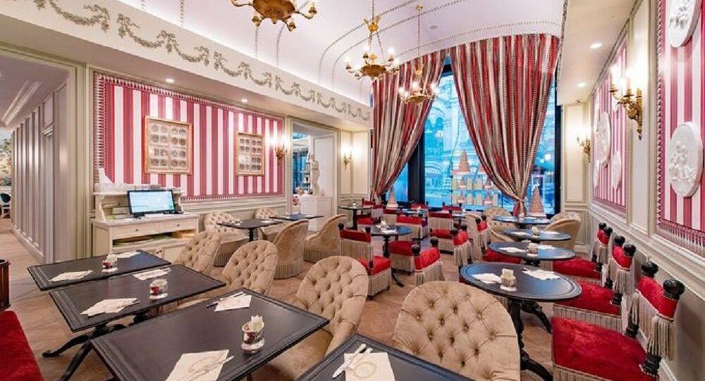 Le restaurant de Ladurée à Moscou