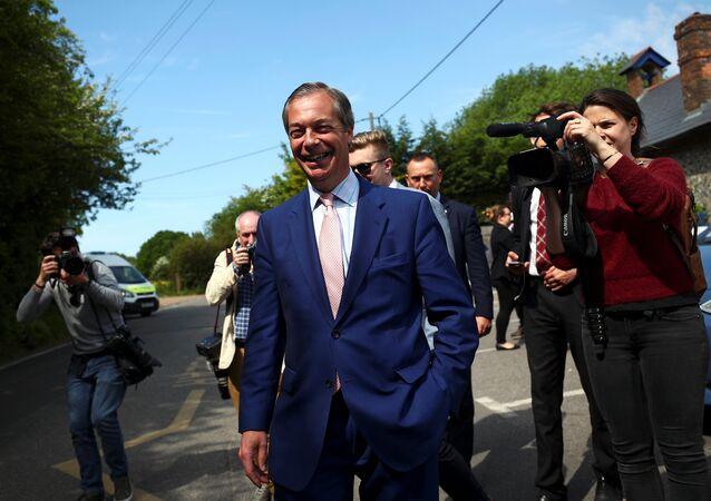 Nigel Farage, fondateur du Parti du Brexit