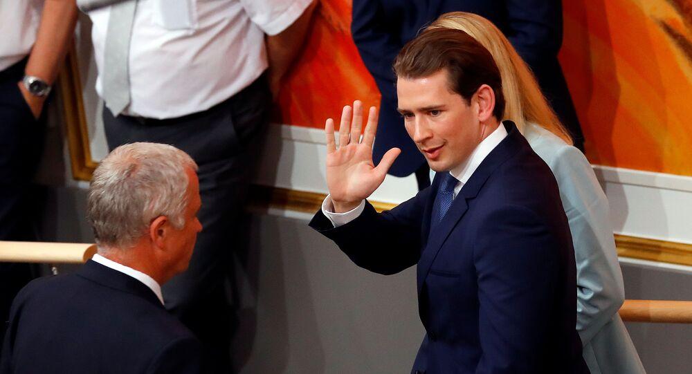 Österreichs abgewählter Kanzler Sebastian Kurz
