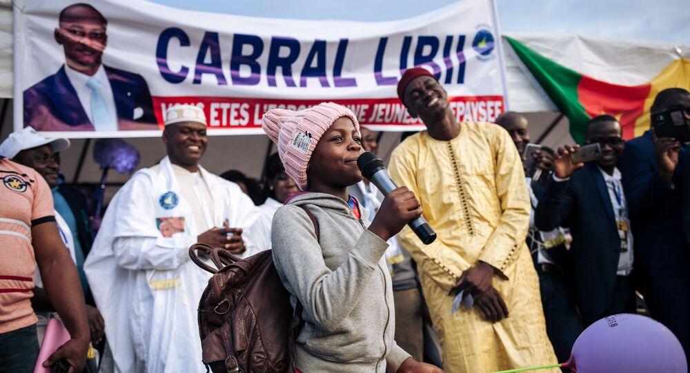 Campagne électorale de Cabral Libii, Cameroun