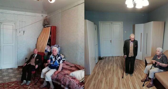 Rénovation de l'appartement pour un vétéran de la Seconde guerre mondiale