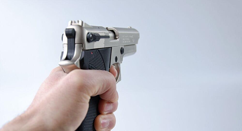 un pistolet, image d'illustration