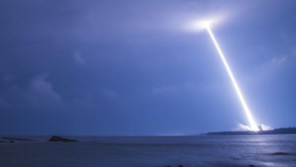 le lancement d'une fusée chinoise, image d'illustration - Sputnik France