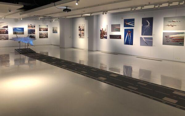 Une exposition de photos consacrées à l'aviation et au Salon international aérospatial de Moscou MAKS - Sputnik France