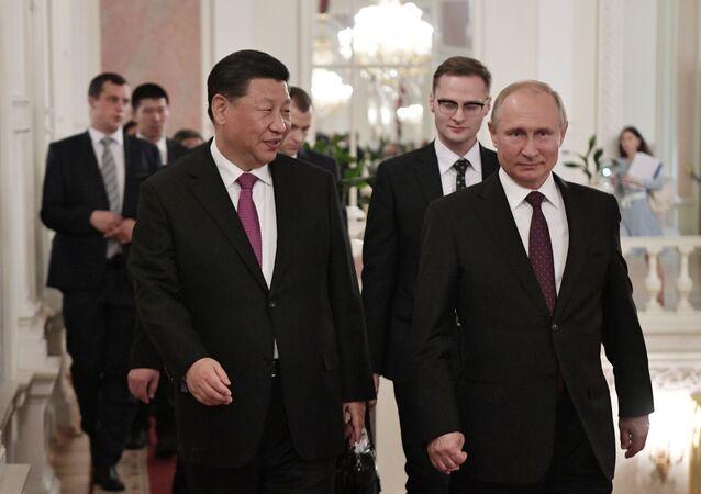 Vladimir Poutine et Xi Jinping