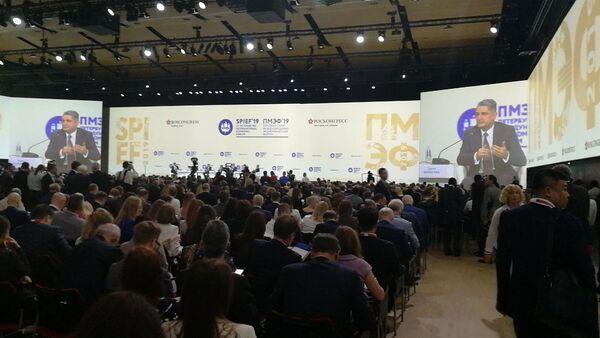 Forum économique international de Saint-Pétersbourg 2019, le 6 juin - Sputnik France