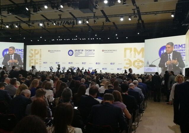 Forum économique international de Saint-Pétersbourg 2019, le 6 juin