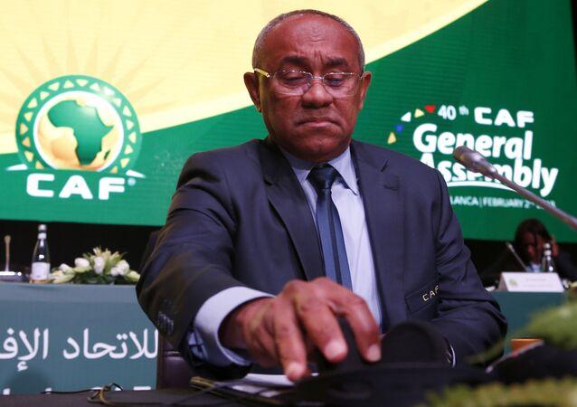 Ahmad Ahmad, Président de la CAF