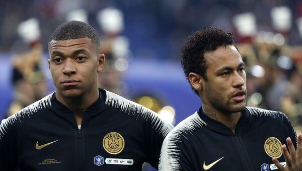 Kylian Mbappé et Neymar - Sputnik France
