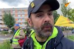 Jérôme Rodrigues lors de l'acte 30 des Gilets jaunes à Paris