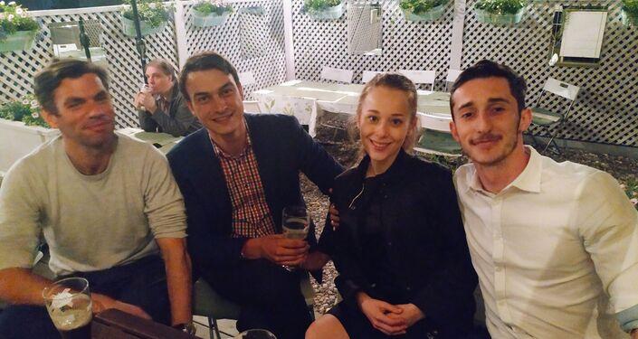 Immersion in Russia: Jérémie, Guilhem, Frédéric et Olga