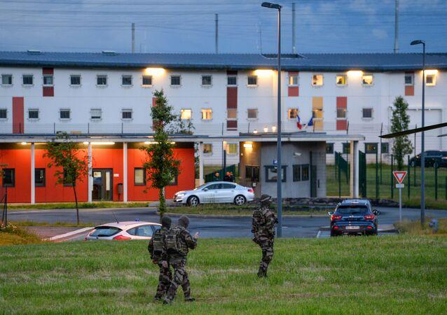 la prison de Condé-sur-Sarthe