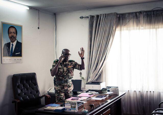 Général Donatien Nouma Melingui, en charge des opérations militaires dans la région anglophone de Sud-Ouest du Cameroun, en proie du conflit social et armé depuis 2016