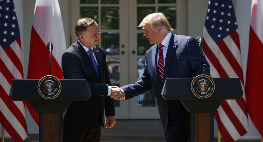 Les Présidents polonais et américain à Washington
