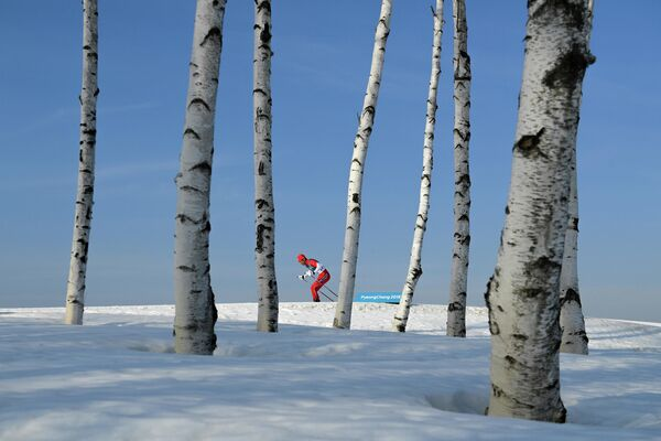 Lonely Olympics du photographe russe Alexeï Filippov, finaliste dans la catégorie Sport, série de photos. - Sputnik France