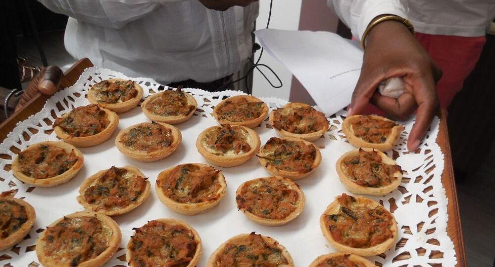 Plateau de dégustation lors de la campagne AfroGourmands, Dakar