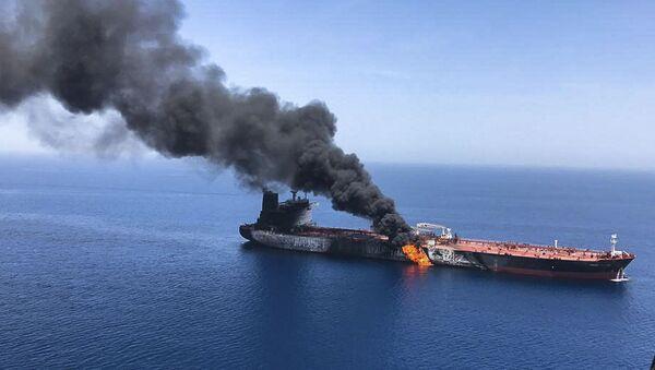 incident en mer d'Oman, 13 juin 2019 - Sputnik France