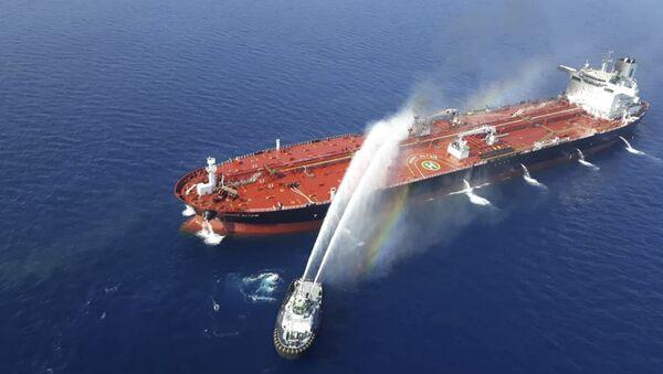Pétroliers dans le golfe d'Oman - Sputnik France