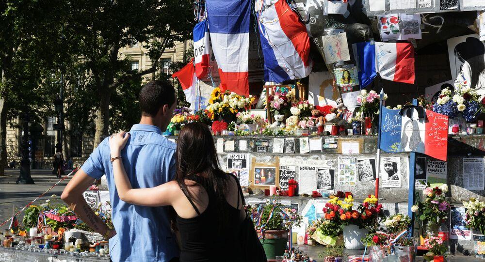 Commémoration des victimes de l'attentat de Nice à Paris