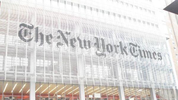 New York Times Company - Sputnik France