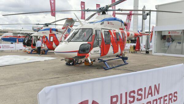 Hélicoptères Ansat - Sputnik France