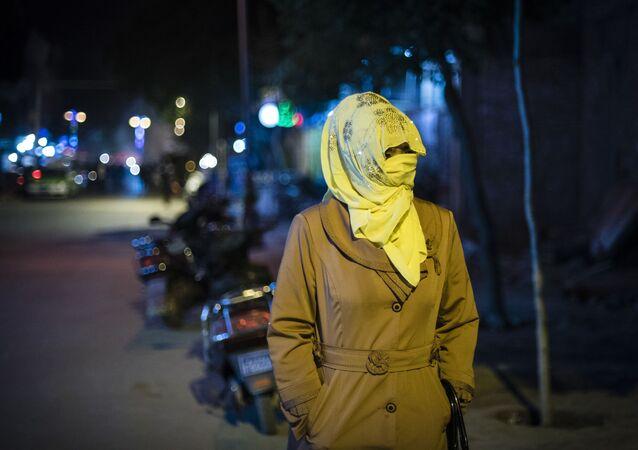 Femme ouïgoure en Chine