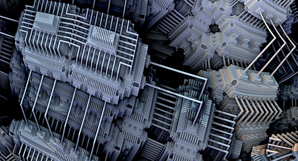 Un ordinateur quantique (image d'llustration)
